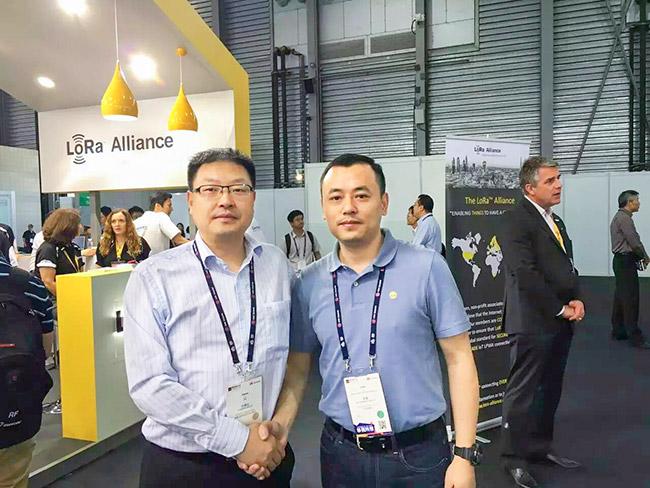 创高安防加入中国LoRa应用联盟
